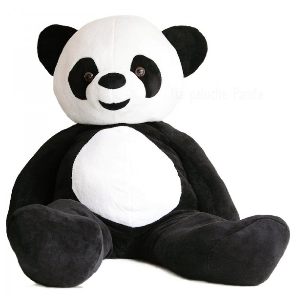 peluche g ante panda. Black Bedroom Furniture Sets. Home Design Ideas