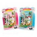 Set écolier Panda 8 pièces
