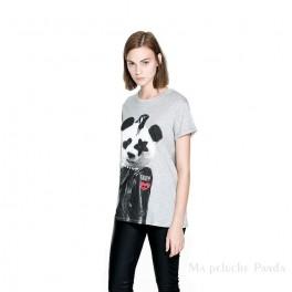 t-shirt Panda Punk