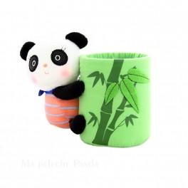 Pot à crayon panda Kawaï
