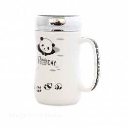 Mug Panda à couvercle