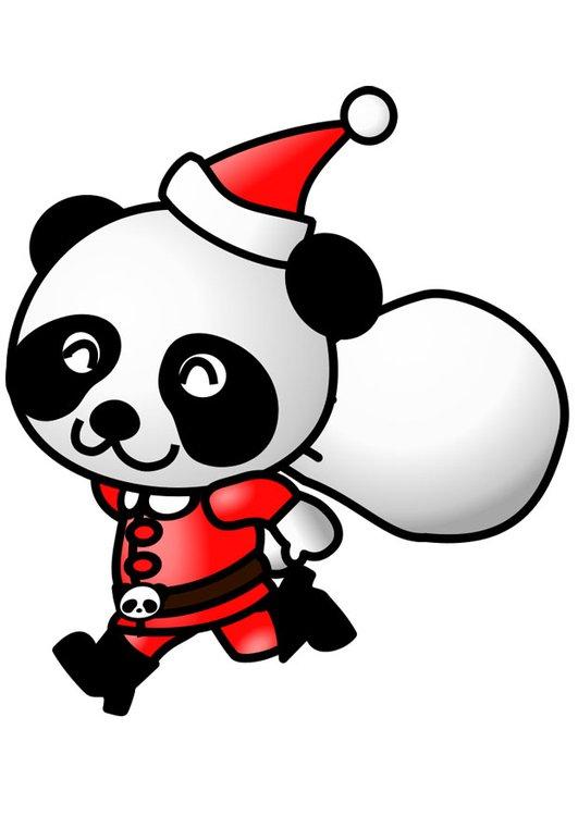 panda noel