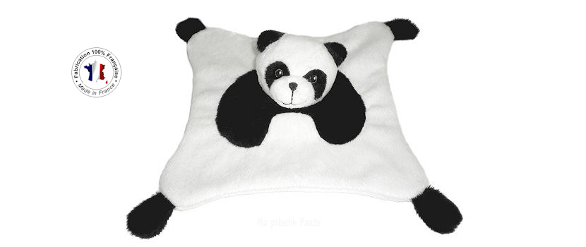 Doudou Panda made in france